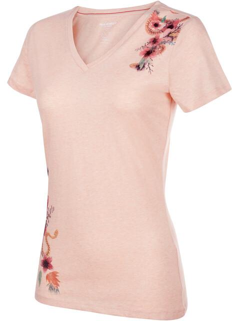 Mammut Zephira t-shirt Dames roze